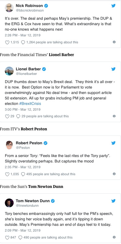 Brexit tweets